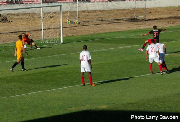 Leandro Turossi defendeu uma grande penalidade