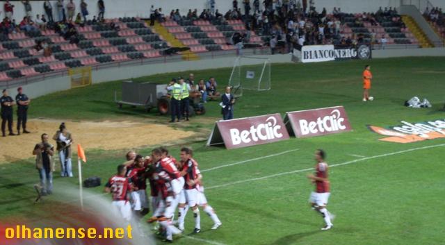 Djalmir marcou o segundo golo na última vitória em Olhão sobre o Portimonense, na temporada 2010/11 (clique na imagem para ver o vídeo da grande penalidade)