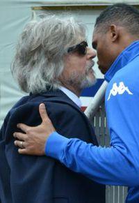Massimo Ferrero, o dono da Sampdoria (FOTO: IL SECOLO XIX)