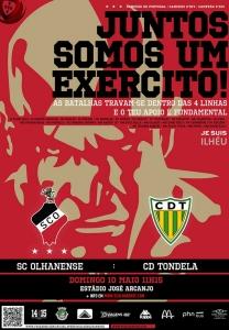 O cartaz da partida