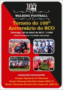 cartaz walking football 105