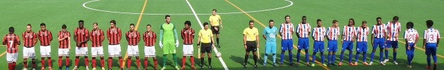ALJUSTRELENSE 25-8-19 two teams
